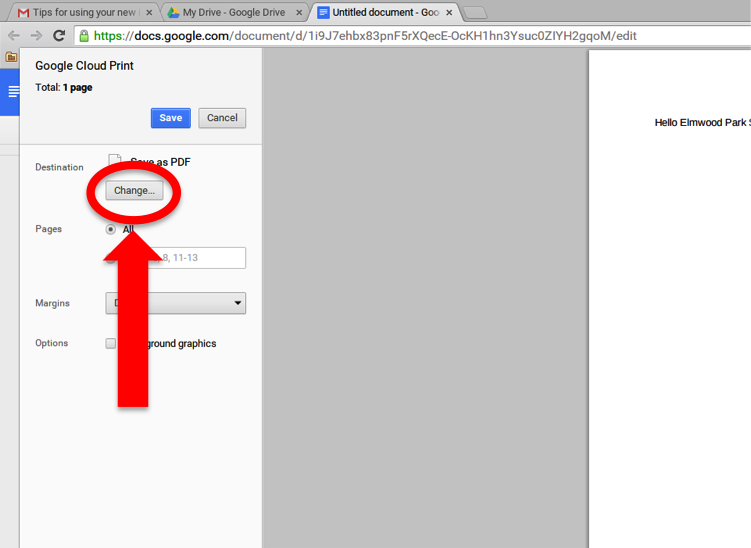 Printing Web Pages on Chromebook - Technology Handbook